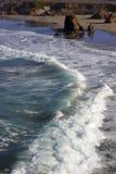 Costa de Califórnia do norte (Oceano Pacífico) Foto de Stock