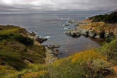 Costa de California Fotografía de archivo