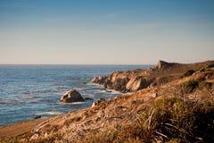 Costa de California Foto de archivo