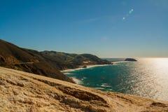 Costa costa de California el Pacífico Fotografía de archivo