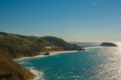 Costa costa de California el Pacífico Fotos de archivo