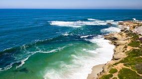 Costa de California, La Jolla Imagenes de archivo