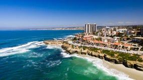 Costa de California, La Jolla Fotografía de archivo