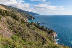 Costa de Califórnia cênico Fotos de Stock