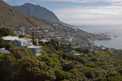 Costa de Cape Town Oceano Atlântico Foto de Stock