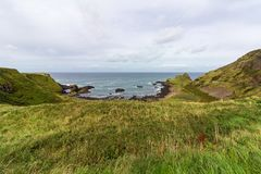 Costa de Causway em Irlanda do Norte imagem de stock royalty free