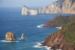 Costa de Cerdeña imagenes de archivo