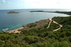Costa de Cerdeña - Italia imagen de archivo libre de regalías