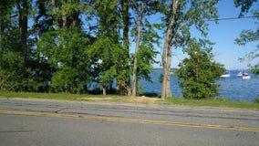 Costa de Champlain do lago Fotografia de Stock Royalty Free