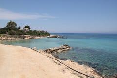 Costa de Chipre imagen de archivo