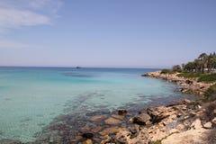 Costa de Chipre fotografía de archivo libre de regalías