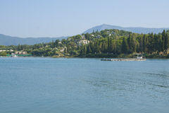 Costa de Corfu Foto de Stock Royalty Free