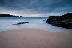 Costa de Cornualha Fotografia de Stock
