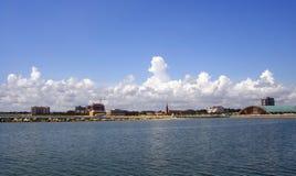 Costa de Corpus Christi fotografía de archivo libre de regalías