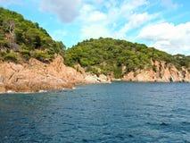 Costa de Costa Brava - 2 Imagen de archivo