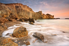 Costa de Creta del este, Grecia. Fotografía de archivo libre de regalías
