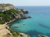 Costa de Crimeia Fotografia de Stock