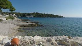Costa de Croatia video estoque