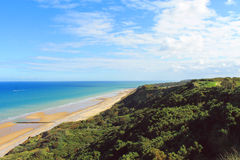 Costa de Cromer Fotografia de Stock Royalty Free
