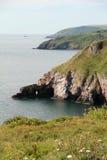 Costa de Devon Imágenes de archivo libres de regalías