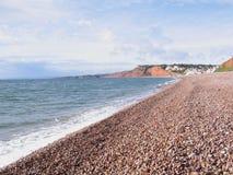 Costa de Devon imagen de archivo