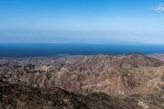 Costa de Djibouti Imágenes de archivo libres de regalías