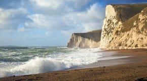 Costa de Dorset fotos de archivo