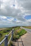 Costa de Dorset en el verano Imagenes de archivo