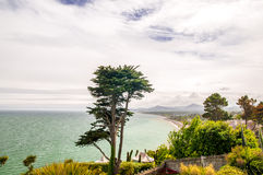 Costa de Dublin por Killiney fotografia de stock royalty free