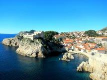 Costa de Dubrovnik Fotos de Stock