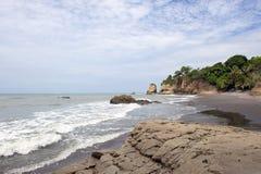 Costa de Ecuador fotos de archivo