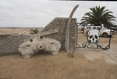 Costa de esqueleto foto de stock