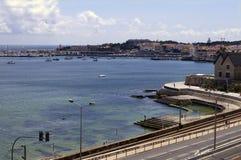 Costa de Estoril. Portugal imagens de stock
