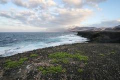 Costa de Fuerteventura Fotografía de archivo libre de regalías