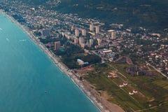 Costa de Gagra fotografia de stock