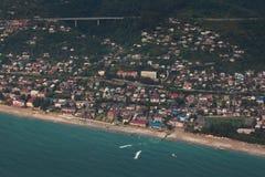 Costa de Gagra imagem de stock royalty free