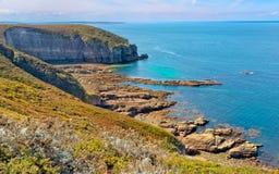 Costa de Granit Rosa, França Imagem de Stock