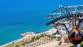 Costa de Haifa imagenes de archivo