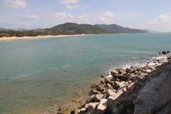 Costa de Hainan imagen de archivo libre de regalías