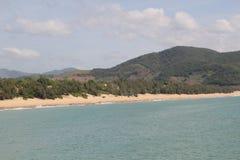 Costa de Hainan fotografía de archivo