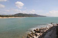 Costa de Hainan foto de archivo