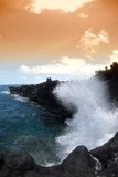 Costa de Havaí Foto de Stock