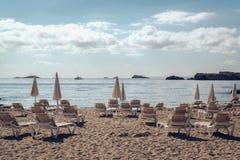 Costa de Ibiza Fotografía de archivo libre de regalías