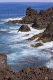 Costa de Ilhas Canárias de Lanzarote imagens de stock