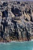 Costa de Ilhas Canárias de Lanzarote imagem de stock royalty free