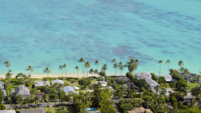 Costa de Kailua Foto de Stock Royalty Free