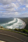 Costa de la bahía de Byron Imagenes de archivo