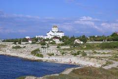 Costa de la ciudad de Sevastopol Foto de archivo