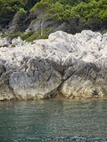 Costa de la isla Foto de archivo