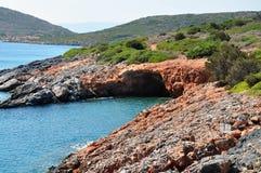 Costa de la isla de Creta, Grecia, Europa imagen de archivo libre de regalías